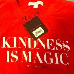Spiritual gangster XS Crop kindness is magical